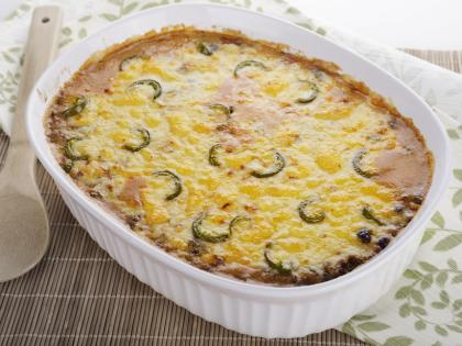 Potato And Jalapeno Casserole