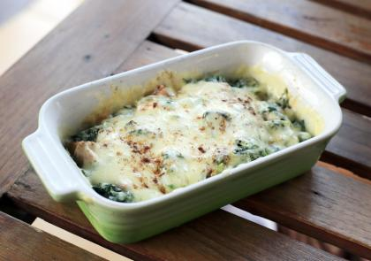Potato-Spinach Bake