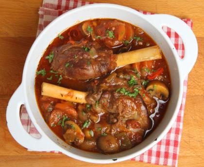 Kokkari Braised Lamb Shank
