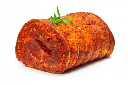 Roast Lamb With Pesto