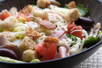 Antipasto Crab Salad