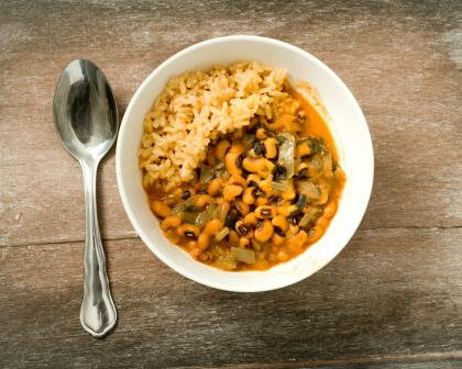 Black-Eyed Pea And Vegetable Stew