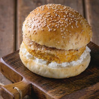 Meatless Cheese Burgers
