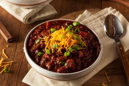 Vegetarian Cincinnati-Style Chilli
