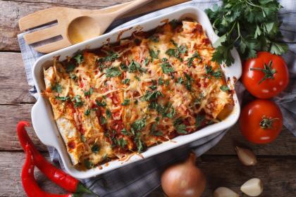 Vegetarian Enchilada Casserole