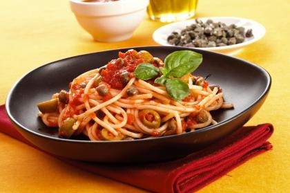 Vegetarian Italian Spaghetti