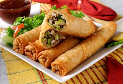 Vegetarian Chimichangas
