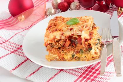 Lasagna Della Vigilia (Christmas Eve Lasagne)