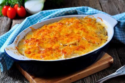 Hot Turkey And Cheddar Casserole
