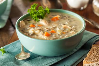 Turkey Rice Soup