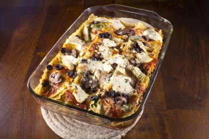 Mushroom And Artichoke Lasagna