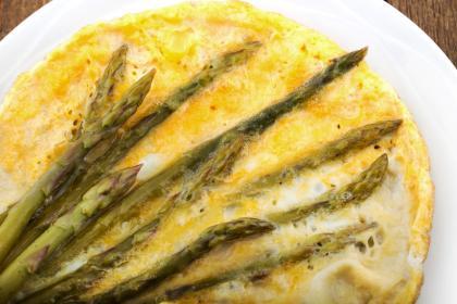 Old Fashioned Eggsparagus
