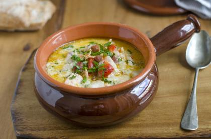 Fish And Leek Chowder