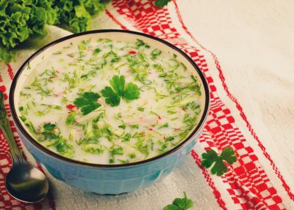 Greek Onion Soup