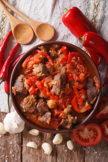 Arni Kapana (Lamb Stew)