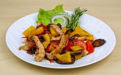 Aubergine With Spicy Pork