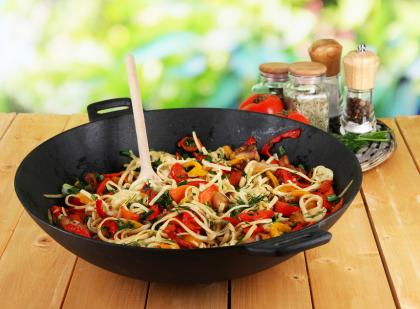 Hot And Spicy Noodles With Vegetables