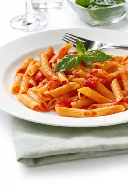 Penne All'arrabbiata (Penne With Spicy Sauce)