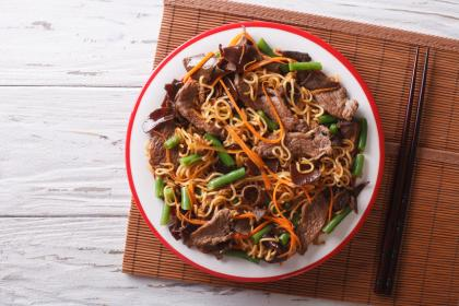 Spicy Beef Noodles