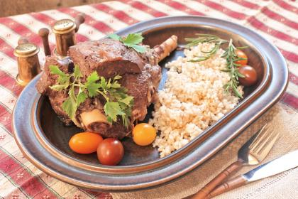Cajun Lamb With Rice
