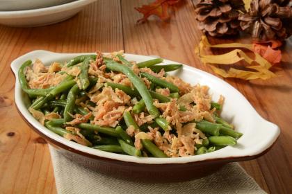 Green Bean & Onion Casserole