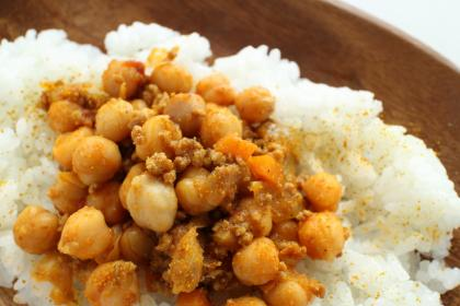 Curried Chick Pea Casserole