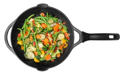 Hot & Sour Stir-Fried Vegetables