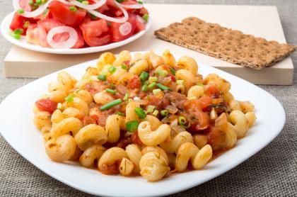 Pasta And Potato Stew