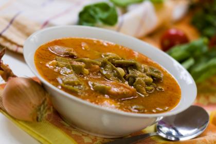 Pork Stew With Olives And Green Beans
