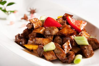 Beef With Celery And Mushrooms