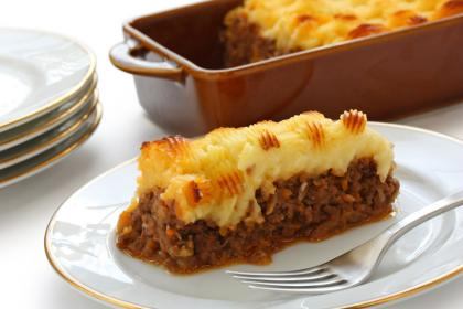 Traditional English Shepherd's Pie