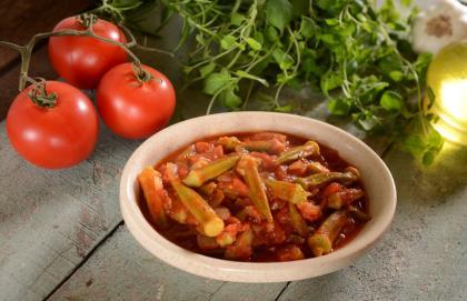 Mediterranean Beef And Okra Stew