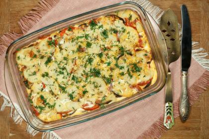 Vegetarian Grecian Moussaka