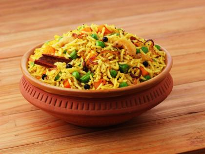 South African Vegetable Biryani