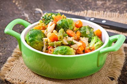 Sprout, Bean & Vegetable Stew