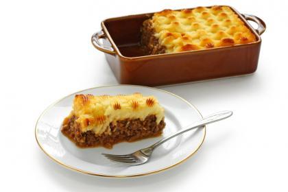 Minced Beef And Potato Casserole