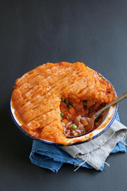 Meat And Sweet Potato Pie