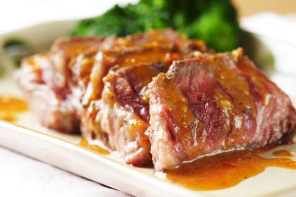 Steak With Thai Peanut Sauce