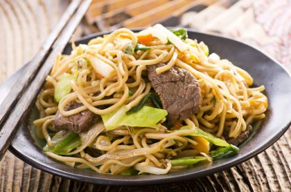 Thai Beef With Noodles