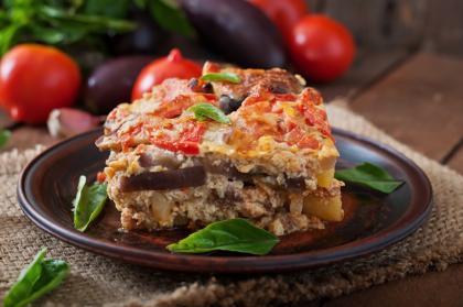 Vegetarian Greek Moussaka