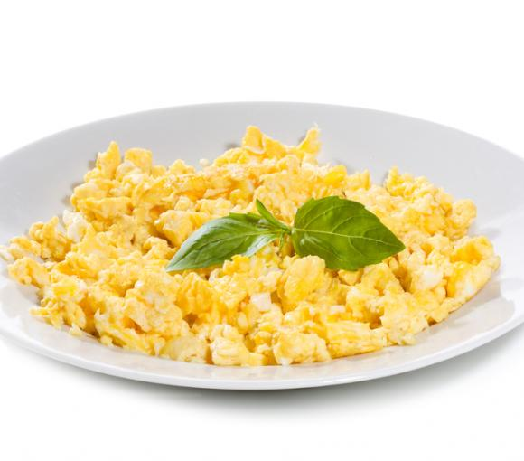 Sour Cream Scrambled Eggs