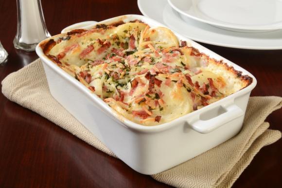 Ham And Potato Casserole