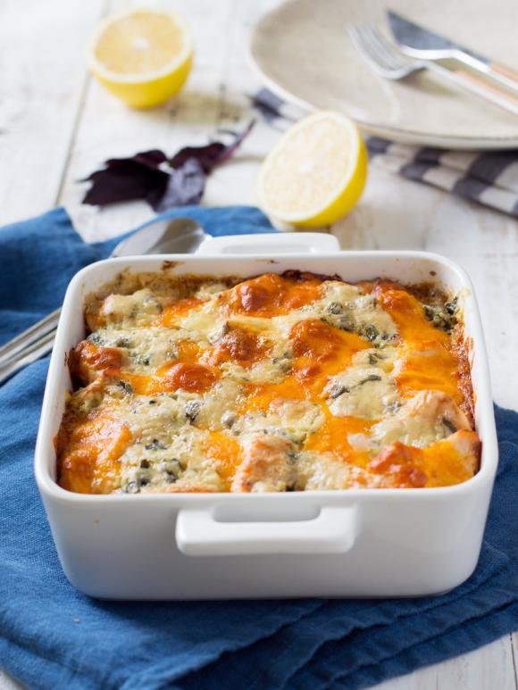 Quick Salmon Casserole Recipe Easy Recipes On Inspiremymeal