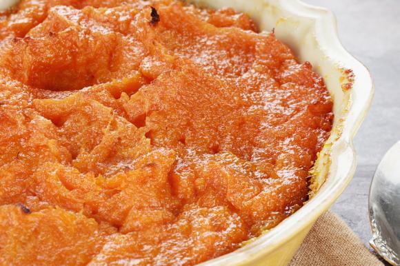 Grated Sweet Potato Casserole