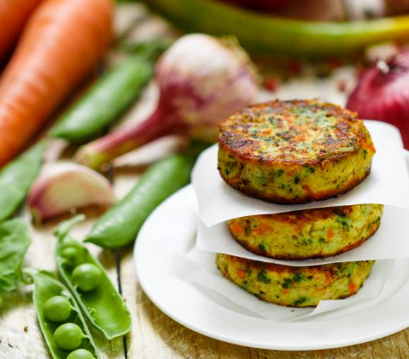 Veggie Stuffed Potatoes