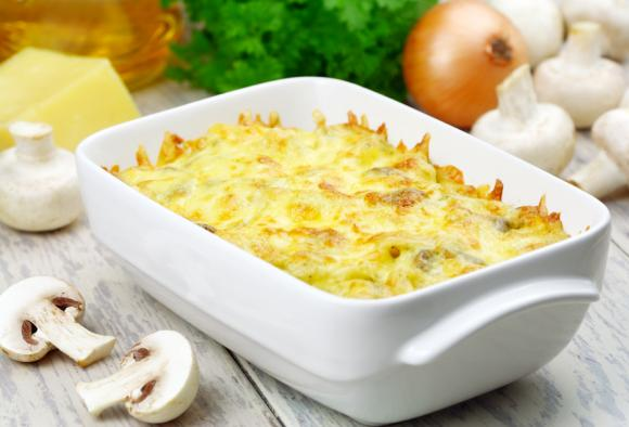Mashed Paprika Potatoes Au Gratin
