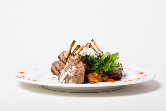 Rack Of Lamb With Blue Cheese Sauce