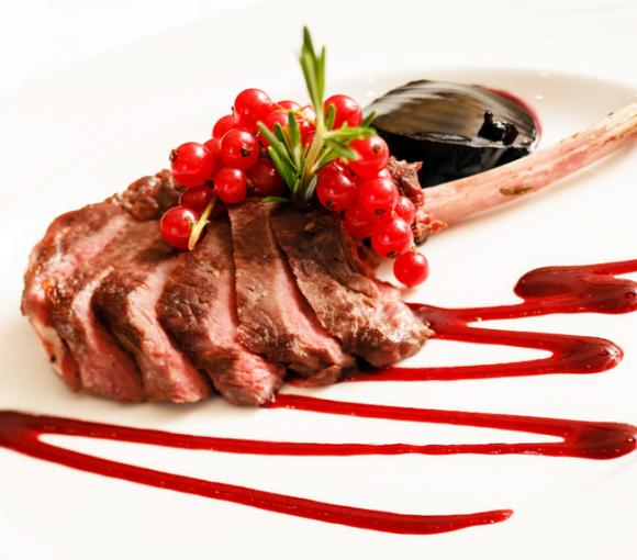 Roast Lamb With Currant Jelly Sauce