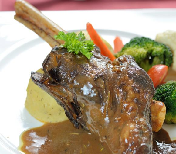 Roast Leg Of Lamb Divine