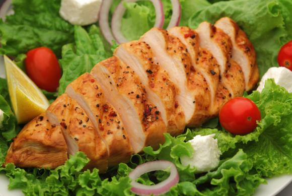 Grilled Lemon Chicken Salad With Dill Cream Dressing